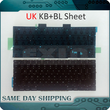 Genuine New A1708 UK Keyboard for Macbook Pro 13.3″ Retina A1708 Keyboards UK with Backlight Backlit Late 2016 Mid 2017 Year
