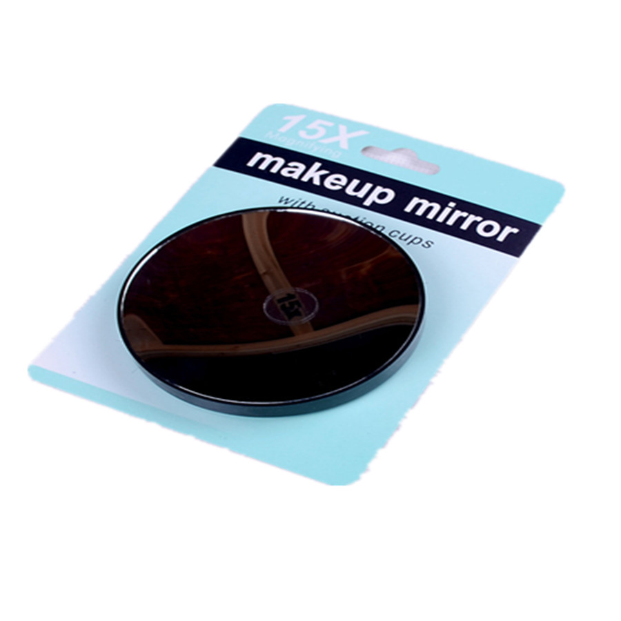 15x Magnifying Cosmetic Makeup Mirror With Suction Cups
