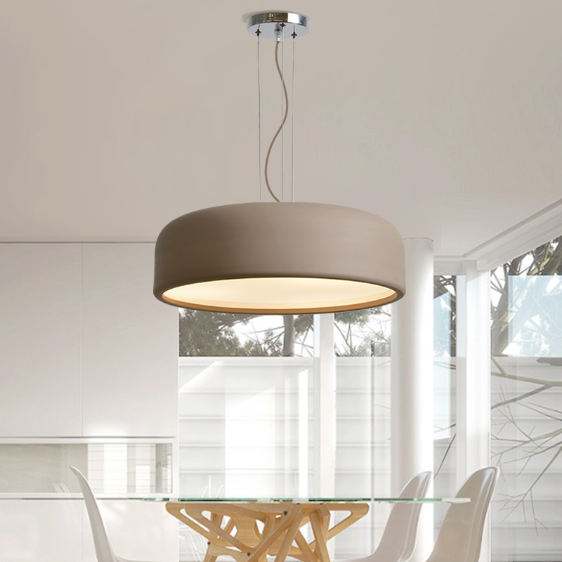 Nordic Style Restaurant lights Ceiling Lamps Macarons Creative Bedroom E27 pendant light Study Lifting Dual-purpose Lamp modern iron 3heads yellow gray blue pendant light study macarons restaurant bar inline chandel lighting pendant lamps za925435