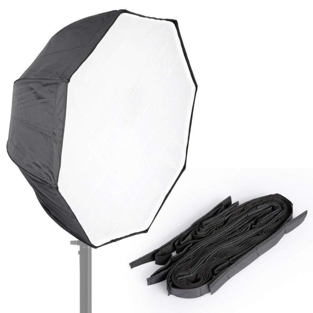 Octagon Umbrella Speedlite Softbox: 31 80cm Octagon Umbrella Type Speedlite Softbox With Grid