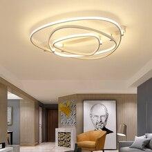 2017 New Arrival Modern Led Chandelier For Living Room Bedroom Diningroom Home Deco Square Aluminum chandelier lighting Fixtures