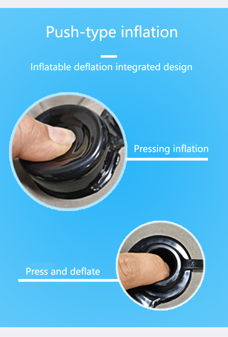 Electronics - Inflatable Soft Cushion Travel Pillow