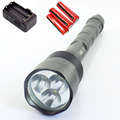 Powerful 6000 Lumens LED Tactical Flashlight Long searchlight 3*CREE T6 protable with 18650 battery Lanterna Torch Lamp Light