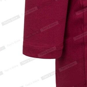 Image 5 - 素敵な永遠のカジュアル作業ヴィンテージミッドふくらはぎドレススタイリッシュな簡単なオフィスの女性固体スクープネックフルスリーブシース鉛筆ドレスb19