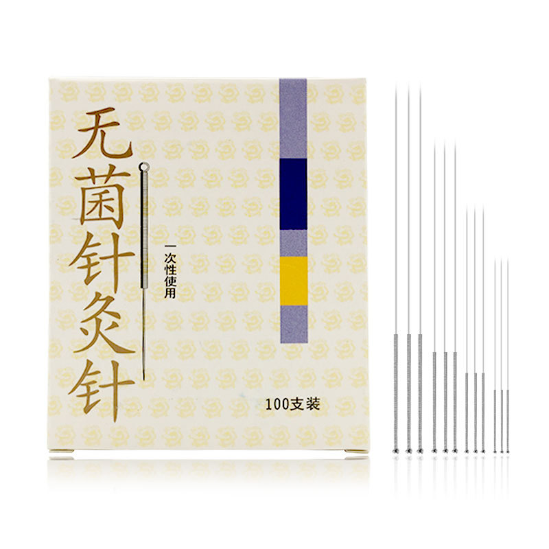 0 18mm 0 25mm 0 3mm Disposable Sterile Acupuncture Needle Chinese Asepsis acupuntura Needle For Single Use 100pcs in Massage Relaxation from Beauty Health