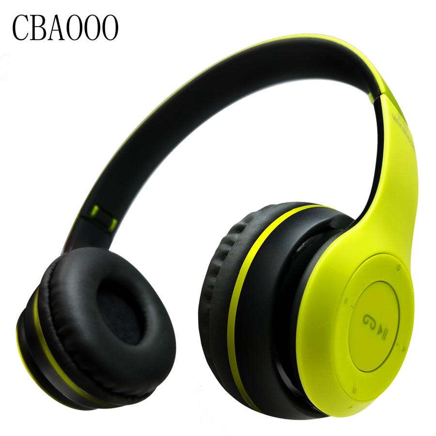 Wireless Bluetooth Headphones Sport headphone Subwoofer Headband Wireless HiFi Stereo Earphone Headphone With Mic TF Card