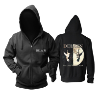 Bloodhoof Delain The Glory and the Scum Progressive Metal Power Metal mucis new black hoodie Asian Size
