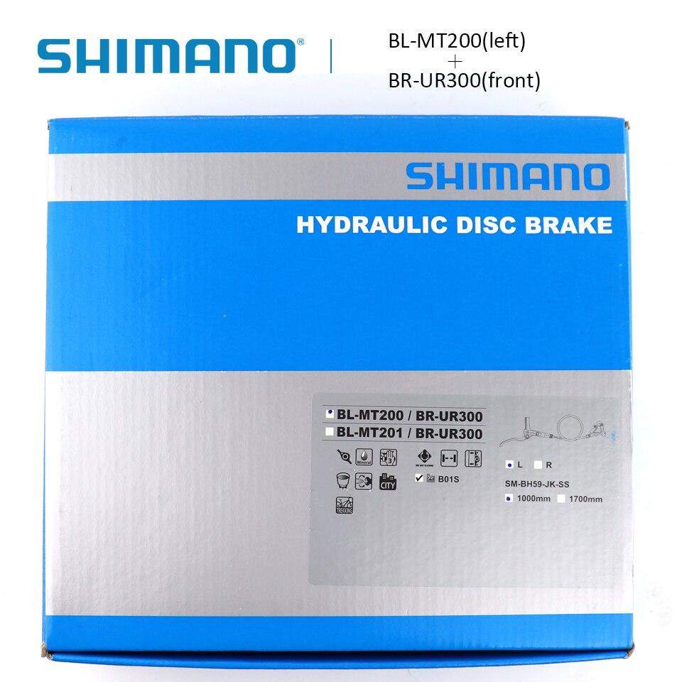 BL-MT201 Bike Disc Brake Black Right Rear 1700mm Shimano BR-MT200