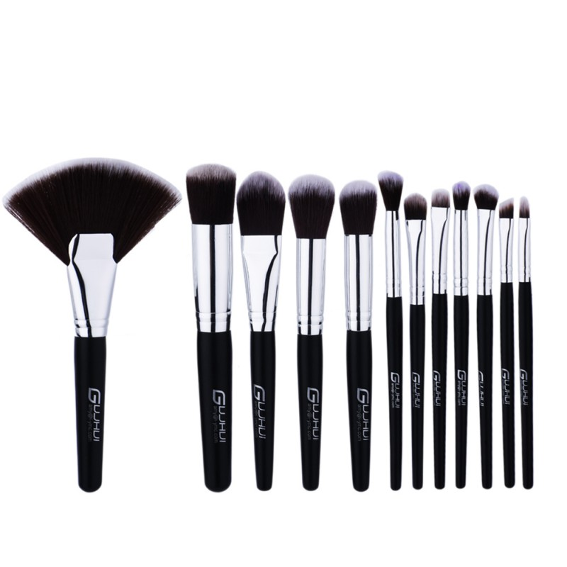 New Makeup Brushes Professional Cosmetic Brush set High Quality Makeup Set With Case nature bristle make up brushes temptalia make up brushes 8pcs brush set professional nature bristle brushes beauty essentials makeup brushes copper top quali