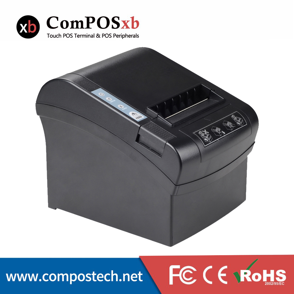 80mm POS System Thermal Ticket Wifi Printer With 260mm/s Printing Speed