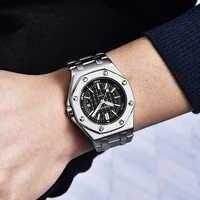 BENYAR Top Marke Luxus Männer Uhren Mode Casual Wasserdichte Männliche Quarzuhr Männer Sport Armbanduhr Relogio Masculino mit Box