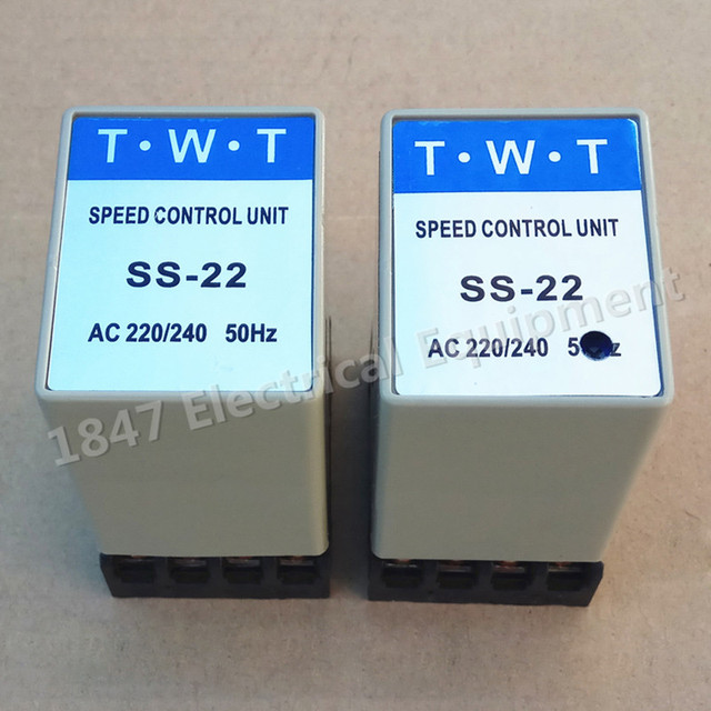 SS 22 20K Ohm Potentiometer 220V/240V Electric AC Motor Speed ...