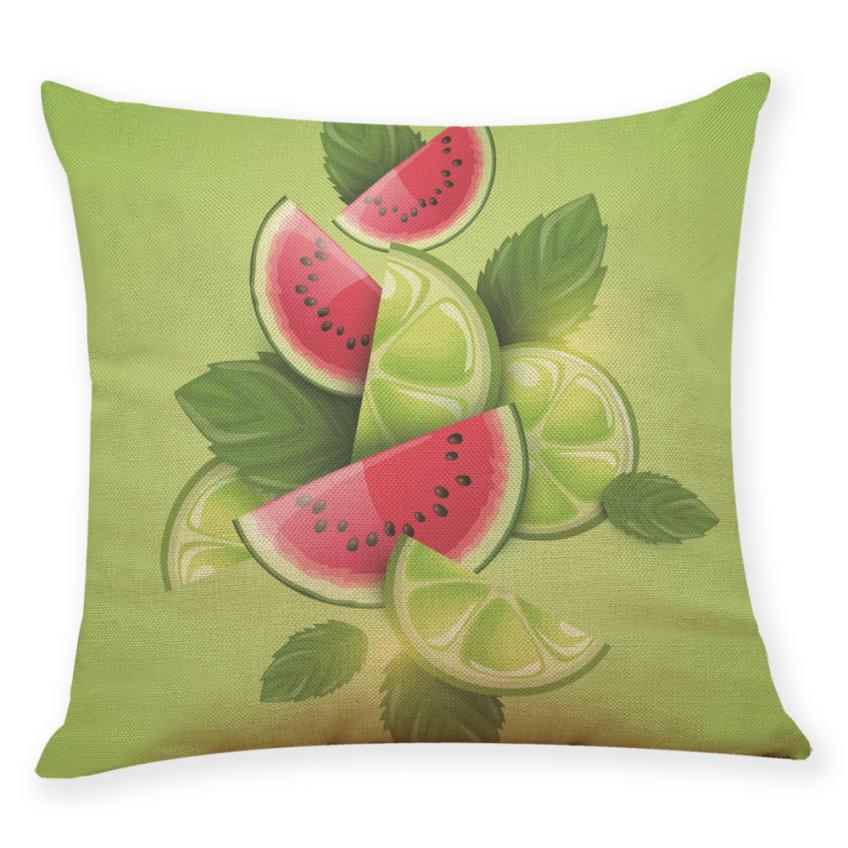 Humble New Qualited Pillow Covers Decorative 45x45cm Fruit Beverage Throw Pillowcase Pillow Covers Square Dropshipping May18 P45 Power Source
