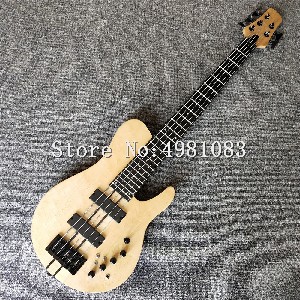 high quality 5 string bass log bass butterfly bass free shipping in guitar from sports. Black Bedroom Furniture Sets. Home Design Ideas