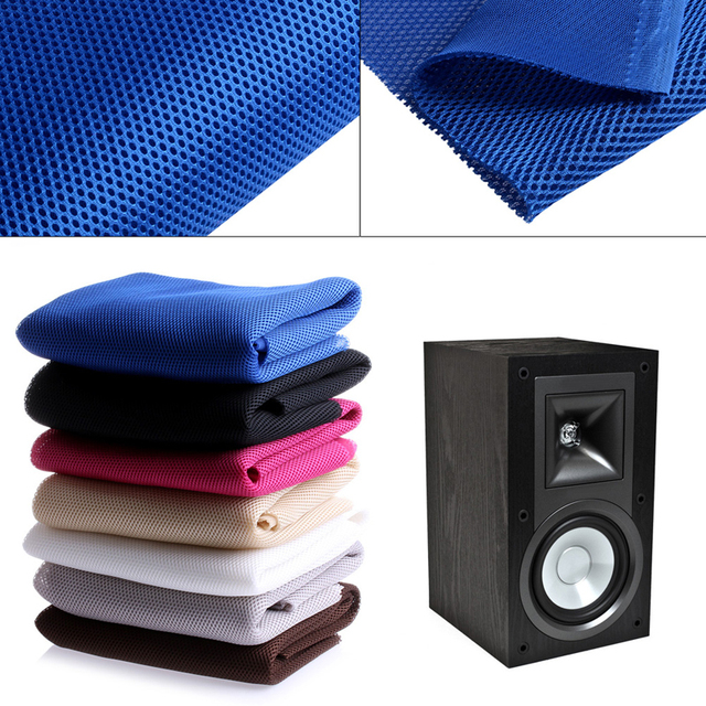 US $4 16 21% OFF|1 PC 140cm x 50cm Speaker mesh Speaker grill Cloth Stereo  Grille Fabric Dustproof Audio Cloth 6 Colours-in Stationery Stickers from