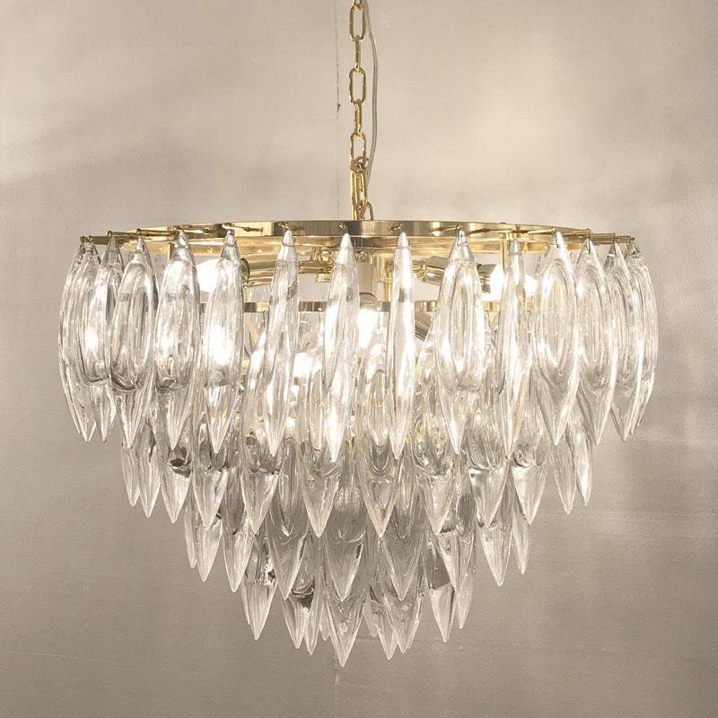 KTV mode postmoderne style européen cristal grand lustre en cristal hôtel villa club ingénierie luminaire led personnalisé led
