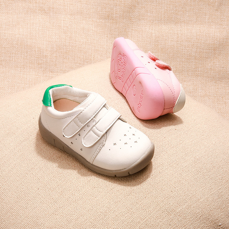 Boys And Girls Casual Sports Shoes Kids 2018 Spring New Baby Toddler Shoes Soft Sole Sneakers Running Shoes Children
