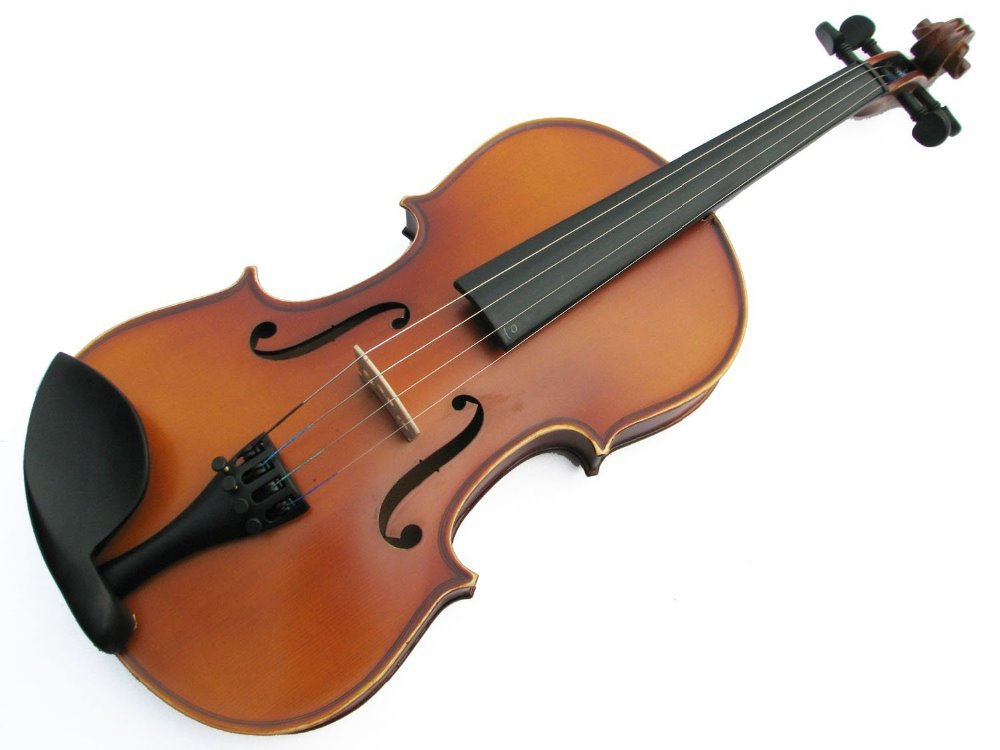 1 4 1 2 3 4 4 4 solid wood violin All real materials production there is a penalty ten thousand fake material in Violin from Sports Entertainment