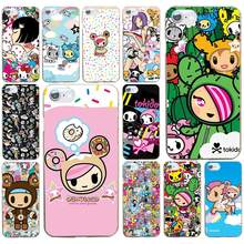 80a0468ed7 153AD Japan Tokidoki Japanese Hard Transparent Cover Case for iphone 4 4s 5  5c 5s se