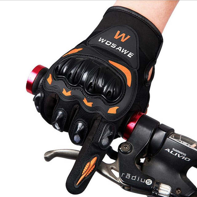 US $15 99 20% OFF|Cool motorcycle gloves moto racing gloves ride bike  driving BMX ATV MTB bicycle cycling Motorbike Powersports Racing Gloves-in
