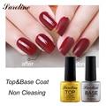 Saroline Cleansing Mirror Glass Finish Gloss Top Coat Gel set gel varnish LED UV Top Gel Shinning Cover Top Coat