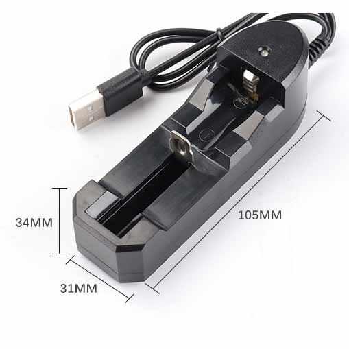 3.7 فولت 18650 شاحن بطارية ليثيوم أيون USB مستقلة شحن السجائر الإلكترونية المحمولة 18350 16340 14500 شاحن بطارية