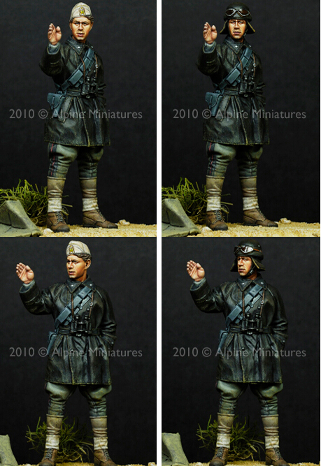 resin assembly Kits 1 35 WW2 Conversation in the Desert soldier Unpainted Kit Resin Model Free