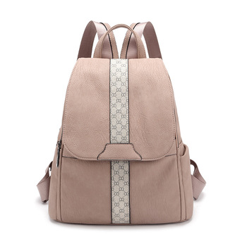 цена Vintage Leather Backpacks Female Travel Shoulder Bag Mochilas Women Backpack Large Capacity Rucksacks for Girls Dayback онлайн в 2017 году