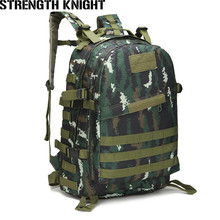 40L Molle Military Backpack Waterproof Assault 3P Attack Army Patrol Double Shoulder Rucksuck