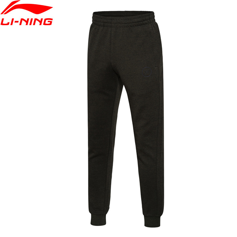 Li-Ning Men Wade Sweat Pants 70% Cotton 30% Polyester Fitness Comfort LiNing Sports Pants AKLM401 MKY309