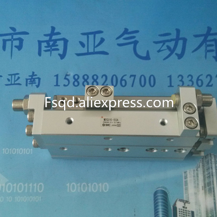 цена на MXQ16-10B MXQ16-20B MXQ16-30B MXQ16-40B SMC air slide table cylinder pneumatic component MXQ series
