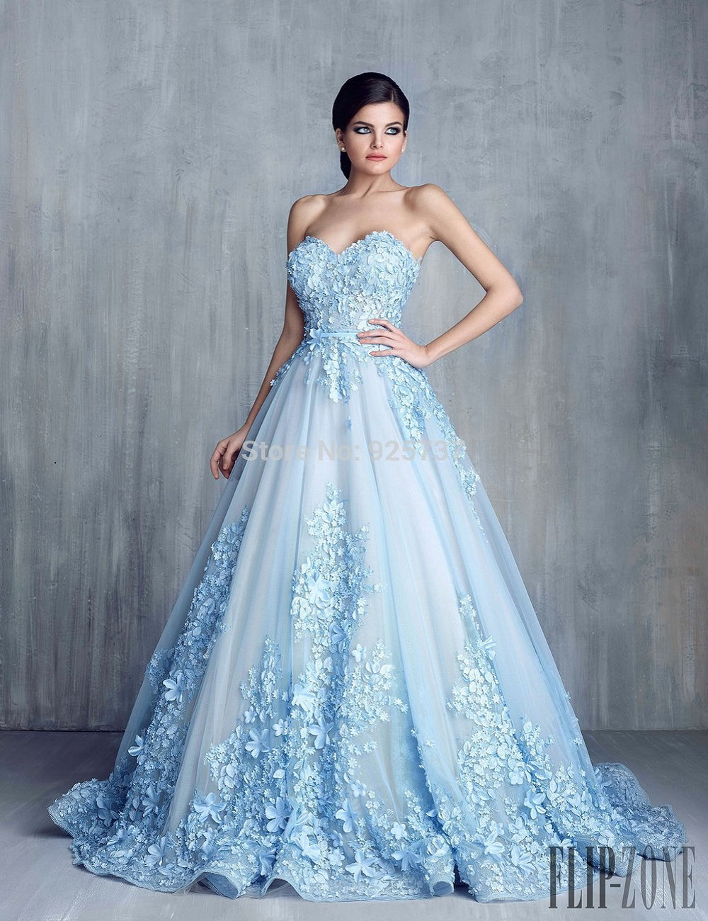 Wedding Online Prom Dresses online buy wholesale arabian prom dresses from china robe de soiree dubai sweetheart appliques pearls tulle blue 2017 online