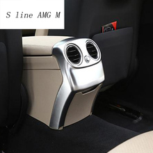 S line AMG M Car Styling For Mercedes Benz C Class W205 C180 C200 Center  Armrest Rear 998985b449f9