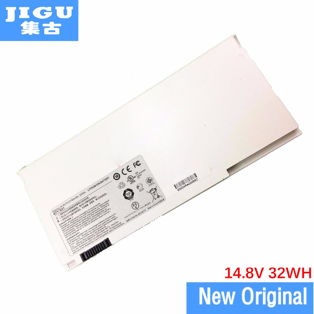 JIGU ORIGNAL laptop battery BTY-S31 BTY-S32 FOR MSI S30 X320 X320X X340 X340X X350 X350X X360 X360X X370 X370X X400 for asus x450cc laptop motherboard i3 3217u 2g video memory x450cc motherboard 4g ram rev2 3 100% tested