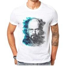 2019 Hot Sale Men T-Shirt Breaking Bad Printing Short Sleeve 100% Cotton Mens T Shirt Funny Cartoon Man Tee Shirts Size XS-XXXS