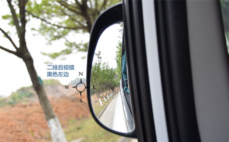 Exceptionnel Car Rear Seat Door Blind Spot Mirror Auxiliary Wide Side Rear View Mirror  For Ford Focus Kuga Escape Ecosport Edge Fiesta 2pcs In Car Stickers From  ...