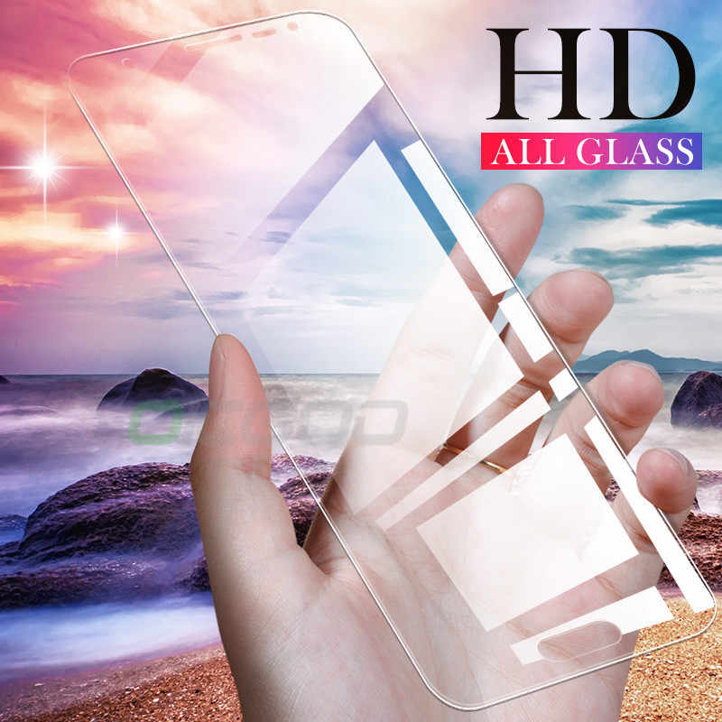 3 Pcs Kaca Pelindung untuk Samsung Galaxy A7 A9 2018 J6 A6 A8 J4 Plus Pelindung Layar 9 H 2.5D tempered Glass untuk Samsung J6 2018