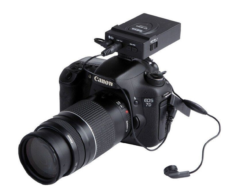 2.4GHz Wireless BY-WM5 Photography Interview Recording Microphones MIC forCanon NIKON DSLR Camera Camcorder Audio Recorder журнал interview купить