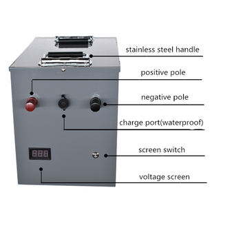 High power 12V 24V 200AH 300AH 400AH Lithium iron phosphate li ion Battery for motorhomes/outdoor emergency/fishing Power source