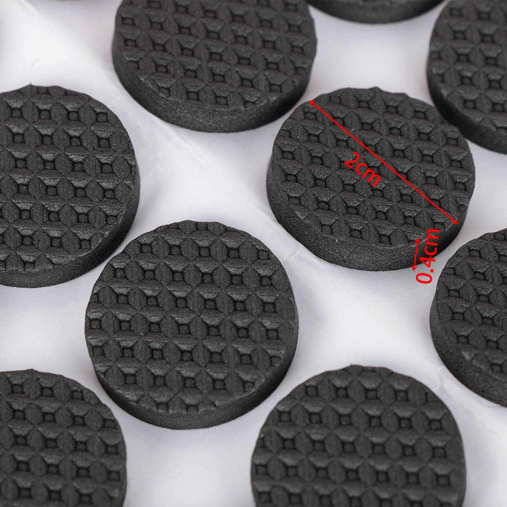 48Pcs Self Adhesive Furniture Leg Feet Rug Felt Pads Anti Slip Rubber Mat Bumper Damper For Chair Table Protector Tools Hardware