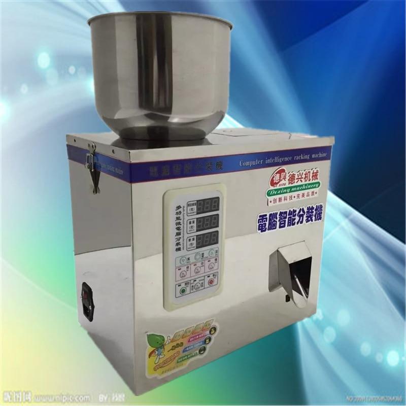 1-50g computer di intelligenza macchina travaso, macchina per l'imballaggio quantitativa, automatico di cibo/polvere/particelle/semi macchina di rifornimento
