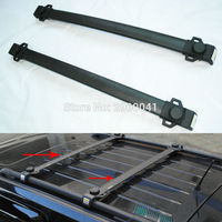 2x Aluminium ABS Car Styling Accessory Roof Rack Cross Bars Luggage Carrier For Jeep Patriot 2011