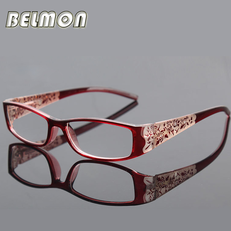Fashion Magnetic Reading Glasses Kvinder Anti-Fatigue Anti-Strålingsdiopter Presbyopic Glasses + 1.0 + 1.5 + 2.0 + 2.5 + 3.0 + 3.5 + 4.0 RS042