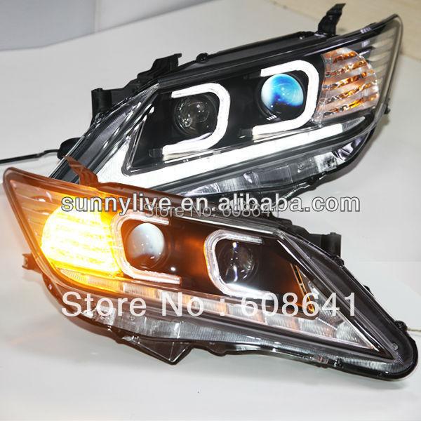 Aurion Camry C tip LED anđeoske glave svjetlo 2012-2013 godine TLZ - Svjetla automobila - Foto 1