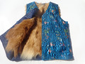 Free shipping The elderly women's  genuine fur  waistcoat cotton vest fur sheepskin wool vest autumn and winter