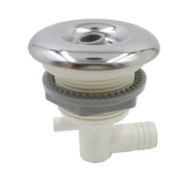 3 inch directional Scallop texture escutcheon spa jet with powerful stainless steel jet,massage tub