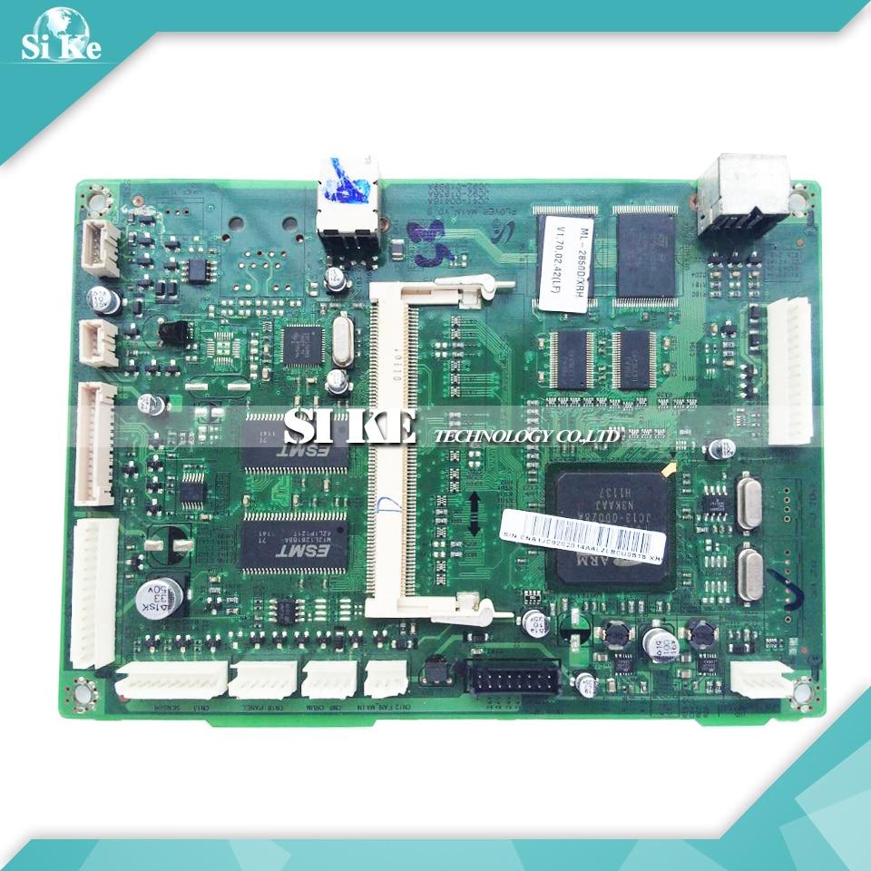 Laser Printer Main Board For Samsung ML-2850 ML-2851 ML 2850 2851 2850D ML2850 ML2851 Formatter Board Mainboard Logic Board laser printer main board for samsung scx 4100 scx 4100 scx4100 formatter board mainboard logic board