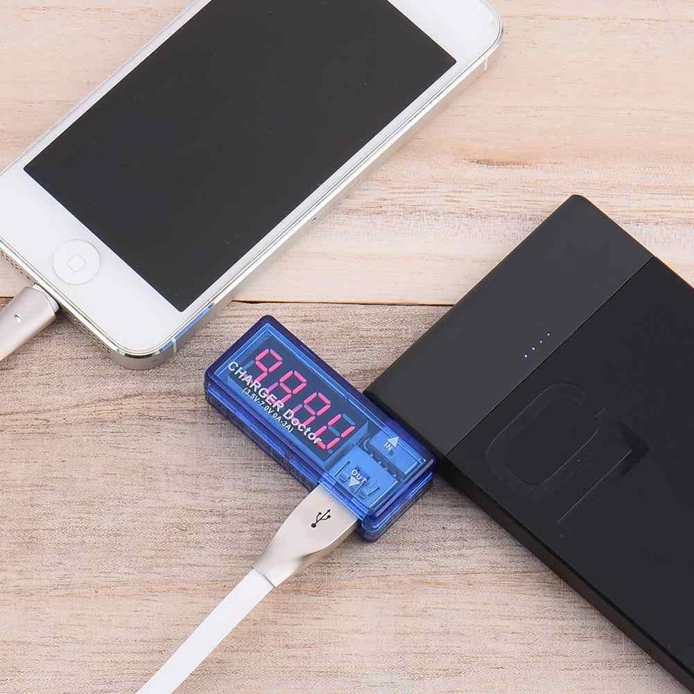 Voltmètre numérique USB ampèremètre compteur de tension de courant batterie Mobile détecteur de puissance batterie testeur de capacité d'énergie