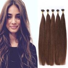 18″-22″ 1g/s U/Nail Tip Hair Extensions Brazilian Virgin Human Hair Keratin Fusion Hair Extensions Pre bonded Hair Extensions