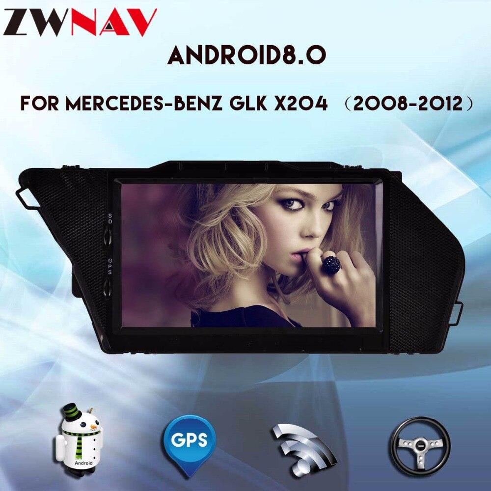 7 inch 4GB +32GB android 8.0 car gps navigation for Mercedes Benz GLK X204,GLK300,GLK350 2008 2012 ,wifi,BT,radio car no dvd